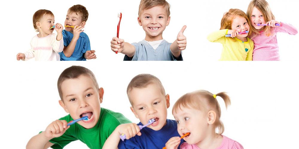 Гигиена зубов детей